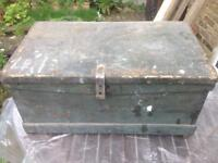 WANTED: Old wooden tool boxes, blanket boxes etc