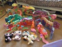 Littlest pet shop houses and accessories