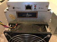Bitmain Antminer L3+ Litecoin Dogecoin Miner and psu
