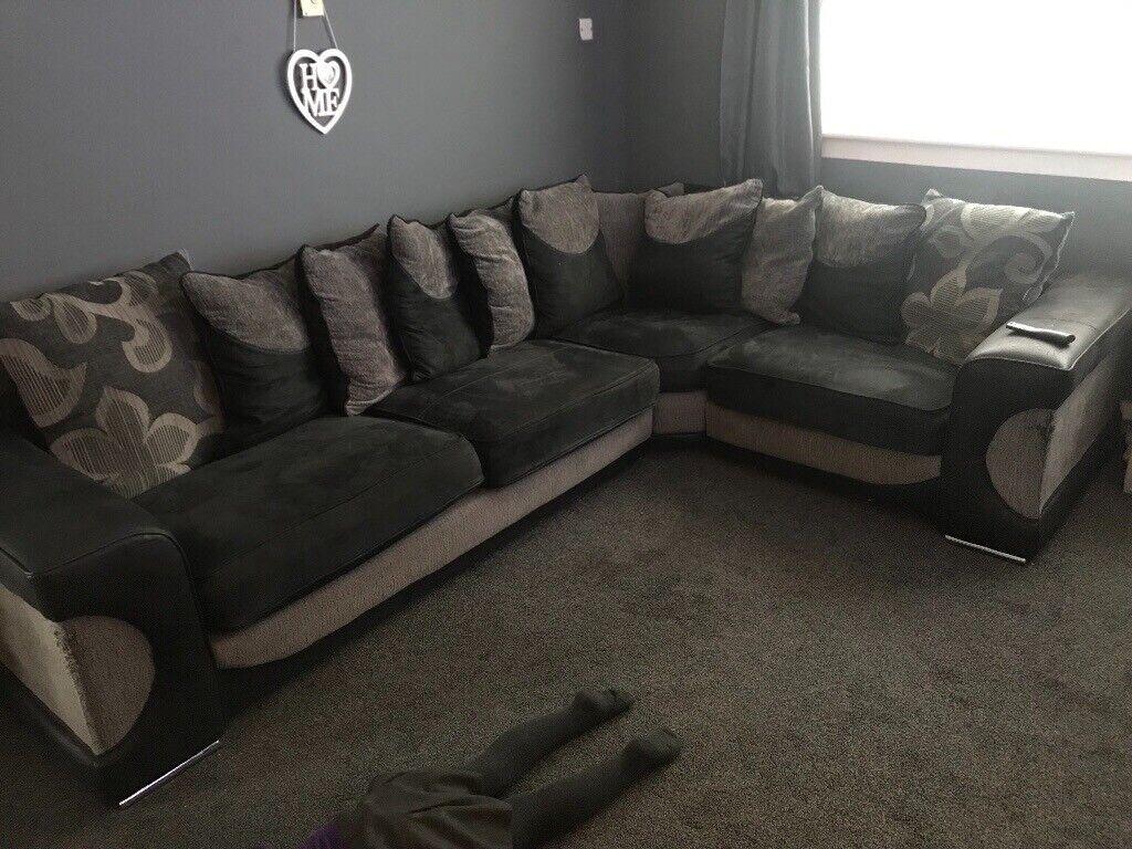 Groovy Dfs Halo Corner Sofa In Whinmoor West Yorkshire Gumtree Lamtechconsult Wood Chair Design Ideas Lamtechconsultcom
