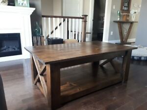 Custom Coffee Tables and End Tables