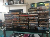 Over 250 dvds