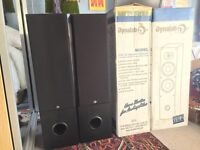Dynalab ADA 2.8 Signature Reference Tower Speakers x4 with Speaker Wire - Two NEW & BOXED, Two Used