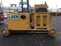 Liner saw bench lister engine