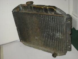 MK1 ESCORT RADIATOR FORD RADIATOR CORTINA RADIATOR GENUINE FORD FOMOCO RADIATOR