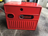 Riello 40 Burner , 90 -150 . Can be seen working , in very good condition.