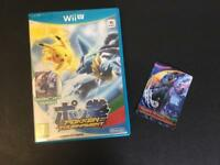 Wii U Pokken tournament and rare shadow mew two amiibo (Pokemon)