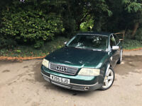 Audi A6 1.8T 2000 For Parts or Repair, Exclusive Character, £330
