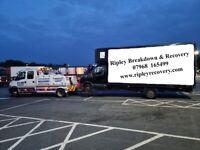 Breakdown Recovery Car Van 4x4 Motorbike Motorcycle Trike Quad Accident Lockout Wheel Nut Removal