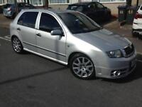 2005 Skoda Fabia VRS tdi remapped 170bhp £995!Bargain diesel not Volkswagen Golf bmw audi seat fr