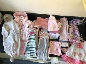 6-9 month baby girl bundle
