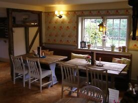 Talented and ambitious Sous Chef required for a award winning quintessentially English country pub