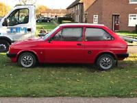 Ford fiesta mk2 // not escort or focus