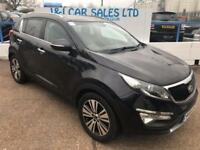 KIA SPORTAGE 1.7 CRDI 4 ISG 5d 114 BHP A GREAT EXAMPLE INSIDE A (black) 2014