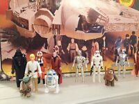 Wanted by Collector - Star Wars Figures, Doctor Who, Marvel DC Toys, 60s, 70s and 80s - Cash Paid