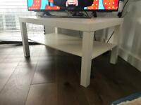 White Coffee Table/TV Stand