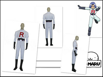 Team Rocket James Kostüm (Pokemon Team Rocket James Cosplay Costume)