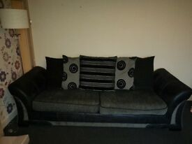 2 four seater settees from dfs
