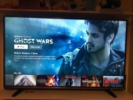 Hisense 50inch 4K Smart TV (Barely Used with Box)