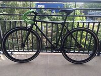 Single Speed Fixed Gear Road Bike