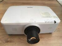 Sanyo PLC XM100L, 5000 Ansi Lumens LCD XGA projector with long throw lens.