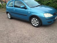VAUXHALL CORSA 1.2 79000MILES FULL SERVICES HISTORY NEW MOT 3DOOR BLUE VERY GOOD CONDITION