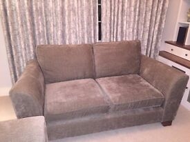 2 x M&S two-seater fabric sofas. Great condition. Very comfortable. £200 each / £300 for the pair.