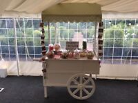CANDY SWEET CART PICK & MIX TROLLEY LEEDS YORKSHIRE
