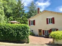 ***REDUCED! DELIGHTFUL DETACHED VILLAGE HOME IN THE SOUTH OF DEUX SEVRES, POITOU CHARENTES, FRANCE!