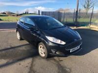FORD FIESTA 1.2 ZETEC 3d 81 BHP FINANCE AVAILABLE (black) 2013