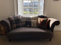 2 Seater DFS Moray Fabric Sofa - Traditional Styled - Like New