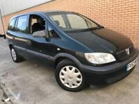 2002 Vauxhall Zafira Club 2.0 DTI 7 Seater, Motd January 2019, PX TO CLEAR.