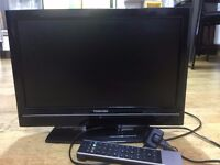19 inch Toshiba HD Ready LCD TV in excellent condition - available in Ilford