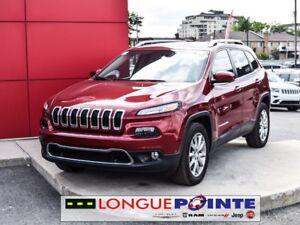 2017 Jeep Cherokee Limited 4X4 - TOIT CAM DE RECUL - CUIR