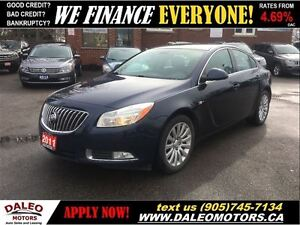 2011 Buick Regal CXL 74KM LEATHER 2.4L