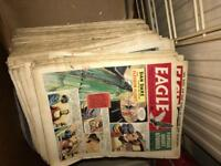 Large pile of Eagle magazines from 1960's. Collection only.