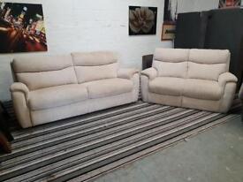 Ex display LAZY BOY fabric 3+2 seater sofa set