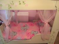 Girls four poster junior bed