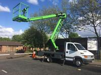 Cherry Picker Hire, £40 Per Hour, Wide Reach, Bradford, Leeds, West Yorkshire