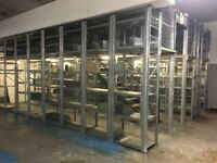 Storage Racking with Mezzanine Platform 7.5m x 6m/ Commercial Racking & Shelving