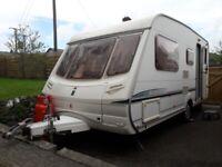 Abbey Aventura 316 - 5 Berth Touring caravan (2003)