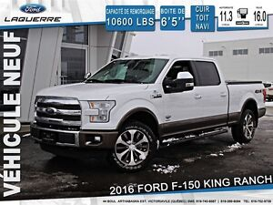2016 Ford F-150 KING RANCH + 175$/SEM