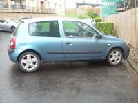 A VERY ECONOMICAL CAR.A EXCELLENT EXAMPLE OF A RENAULT CLIO 1.5 DIESEL. 3dr £30 TO TAX FOR THE YEAR