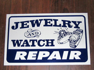 General Business Sign Jewelry And Watch Repair