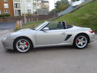 PORSCHE BOXSTER 3.2 24V S 2d 280 BHP GREAT STORY OF PORSCHE BOXSTER 3.2 LEATHER TRIM
