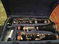 A Buffet Crampon clarinet in B flat.