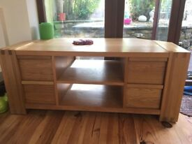 SOLID WOOD CORNER UNIT - EXCELLENT CONDITION