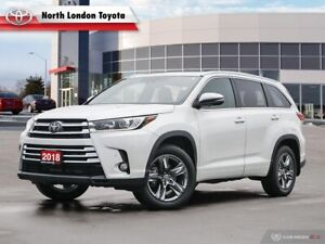 2018 Toyota Highlander Limited One Owner, No Accidents, Toyot...