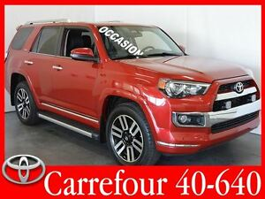 2014 Toyota 4Runner Limited Cuir+GPS+Toit Ouvrant Impeccable !!