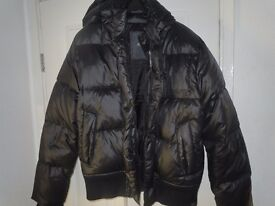 G - STAR RAW HOODED DOWN JACKET